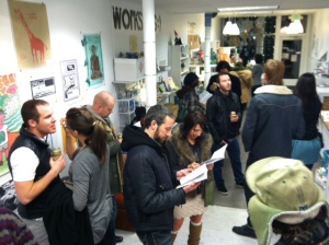 Many thanks to everyone who came out for our opening!