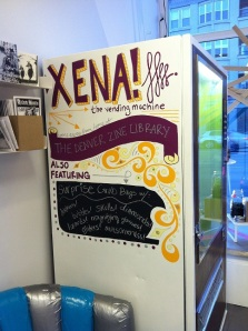 Xena the vending machine