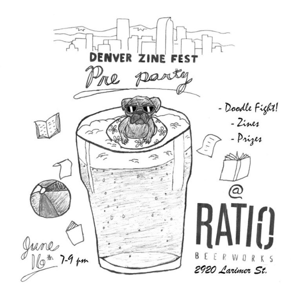2017 Denver Zine Fest Pre-Party