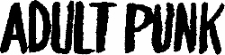 Adult Punk (250x62)
