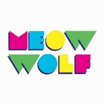 meow wolf color on white square shadow